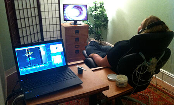 Neurofeedback training sessions