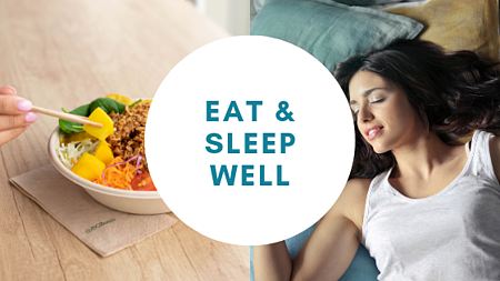 eat and sleep well is key in braintraining