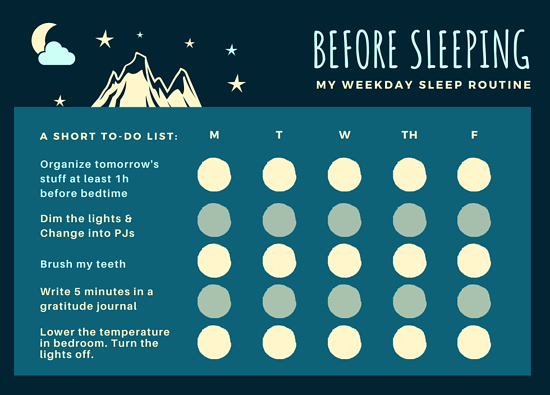 NFT-blog-before-sleeping-short-to-do-list-and-chart-for-quality-sleep
