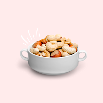 healthy-snack-cup-of-nuts