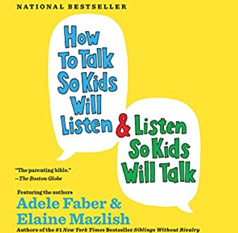 book cover how to talk so kids will listen by adele faber and elaine mazlish