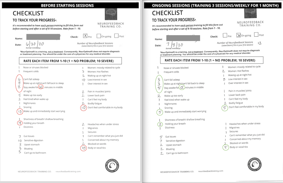 before-checklist-neurofeedback-training