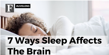 7 ways sleep affects the brain