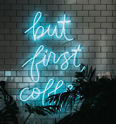 coffee first sign