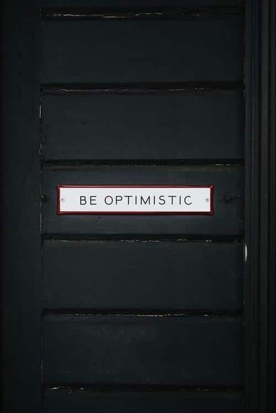 be optimistic brain training