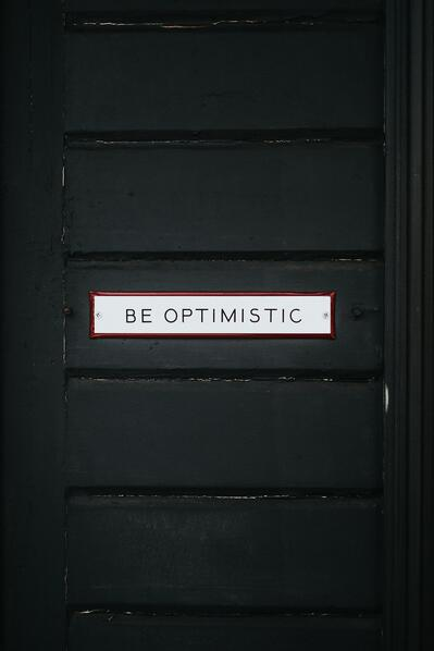 be optimistic brain training
