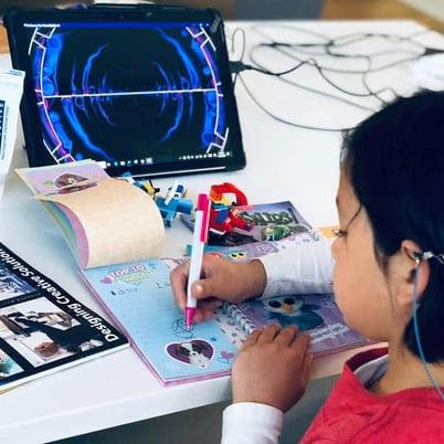 Neurofeedback training for kids