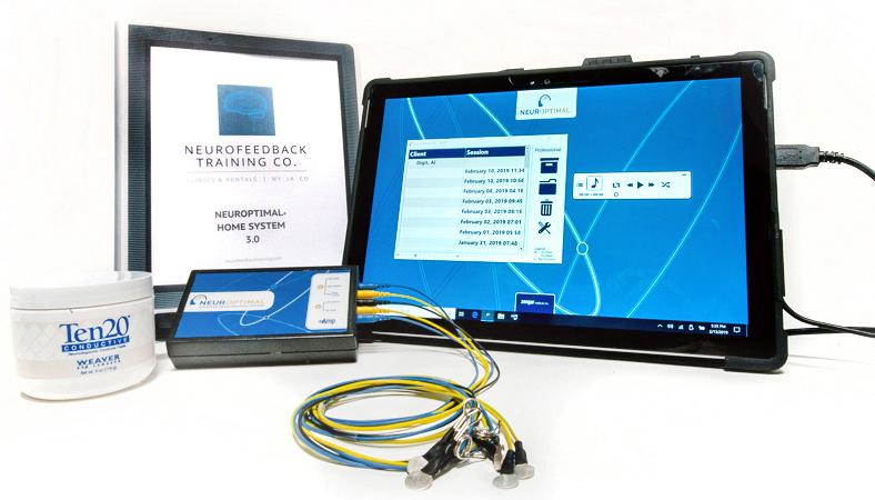 Neuroptimal Neurofeedback at home device with manual